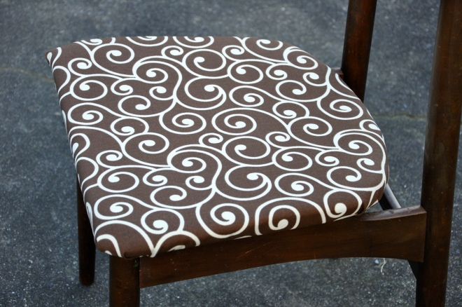 Newly upholstered!
