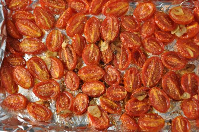 Delicious roasted tomatoes