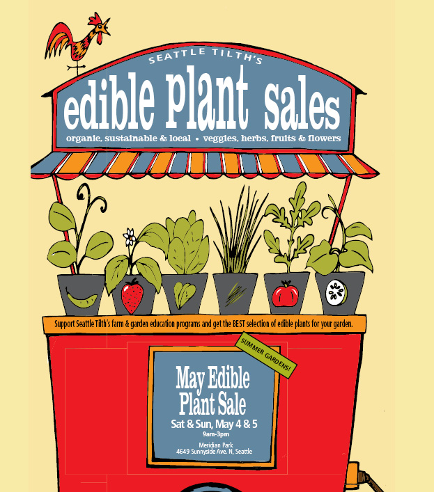 Seattle Tilth Edible Plant Sale!