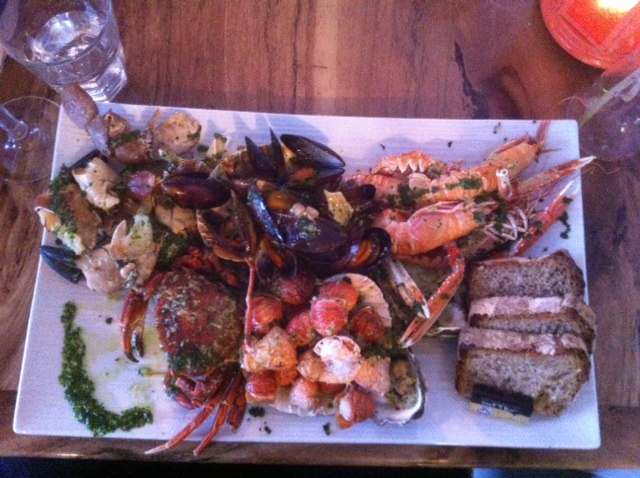 Local Seafood Platter