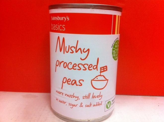 Mushy AND Processed?!