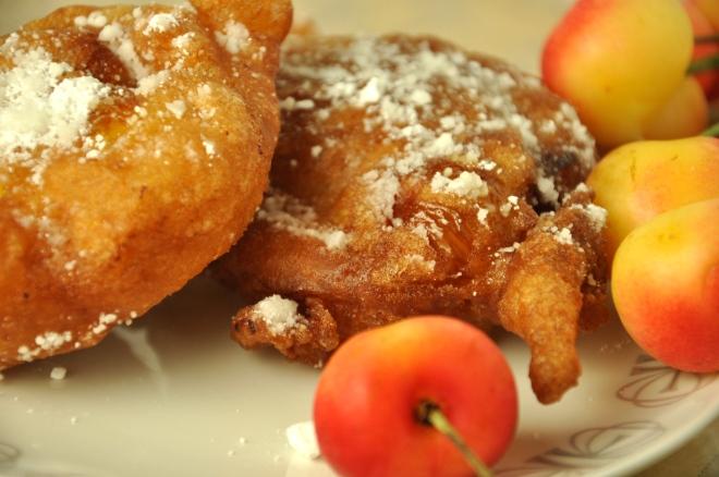Fresh Cherry Fritters