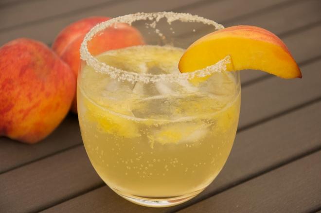 Summer Peach Cocktail
