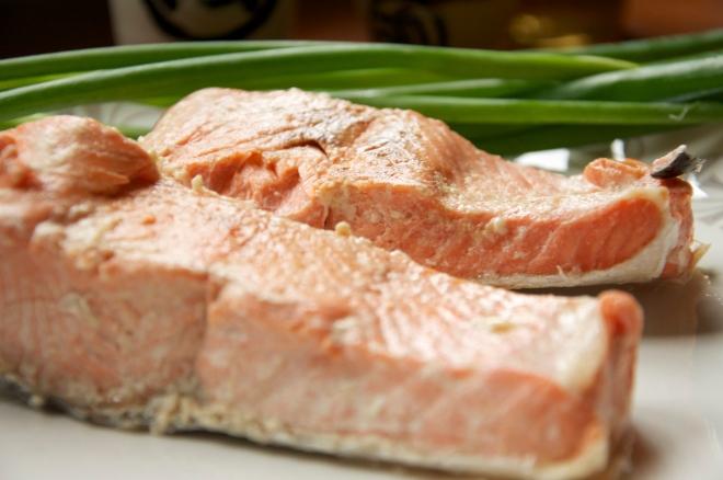 Miso-Mirin Salmon