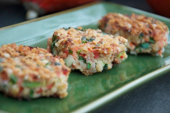 Salmon Halibut Cakes - Amazing