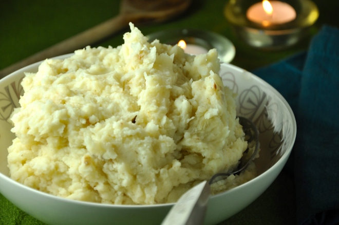 Mashed Potatoes with Celeriac