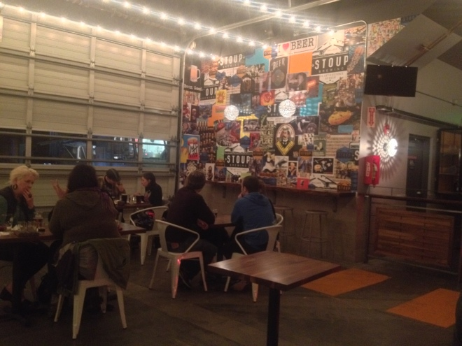 Stoup Brewing's Hang Out Area