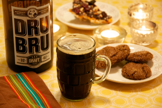 Dru Bru Winter Ale & Cookies