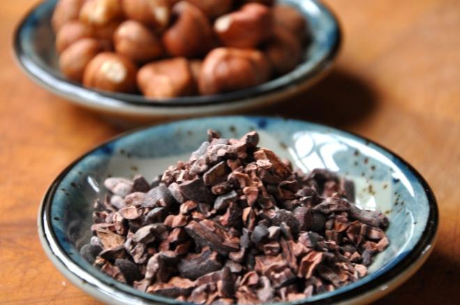 Theo's Chocolates Cacao Nibs & Hazelnuts