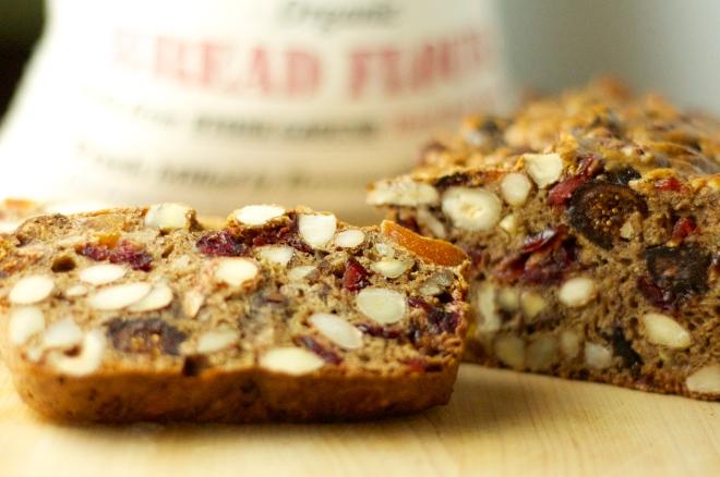 Healthy Fruit & Nut Loaf