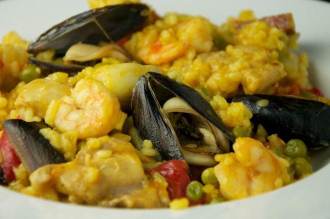 Paella: A decadent dinner