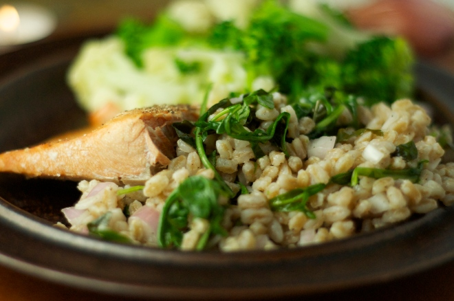 Farro Salad with Parsley
