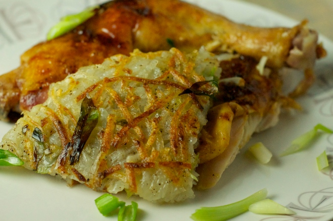 Scallion Potato Pancake