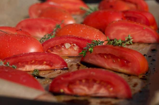 Pre-Roasted Tomatoes